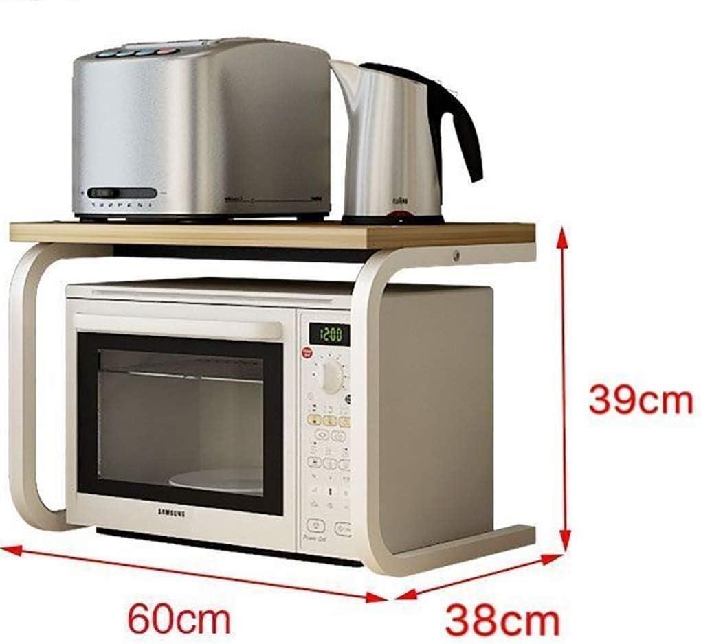YJLGRYF Soporte de rejilla de horno de microondas de 2 niveles ...