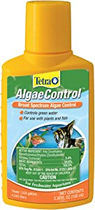 Tetra AlgaeControl Water Treatments, 3.38-Fluid Ounce