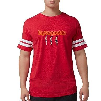 77cc085fd8 Amazon.com  CafePress - 2-Unstoppable - Mens Football Shirt  Clothing
