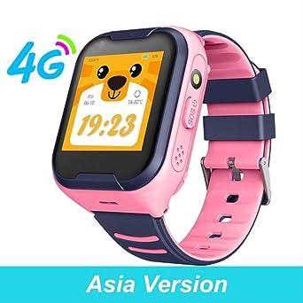 Reloj Inteligente para Niños 4g, Pantalla Táctil GPS Sos Sim ...