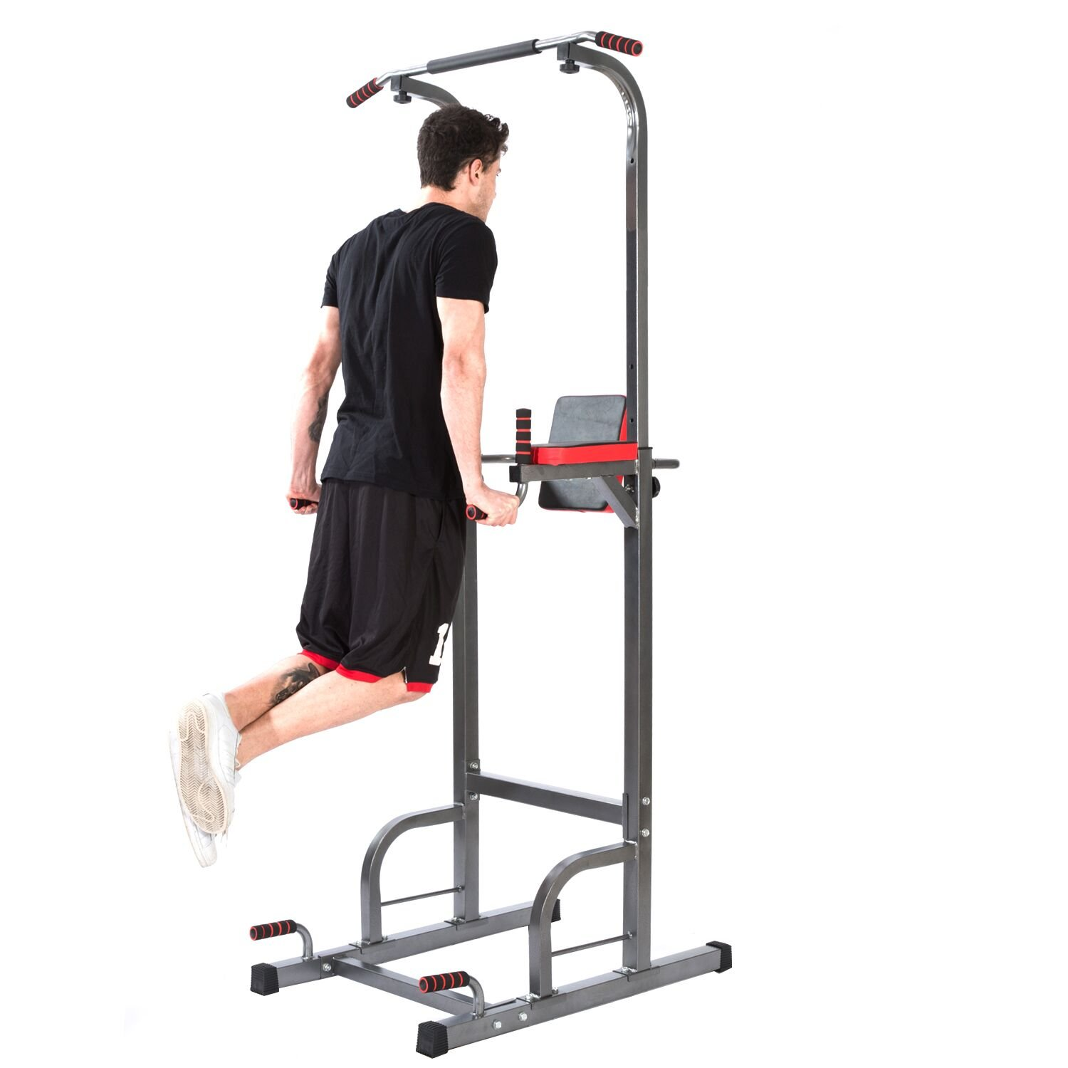 Lx Free Power Tower Adjustable height multi-functional pull-ups Station Home Fitness Workout Station by Lx Free