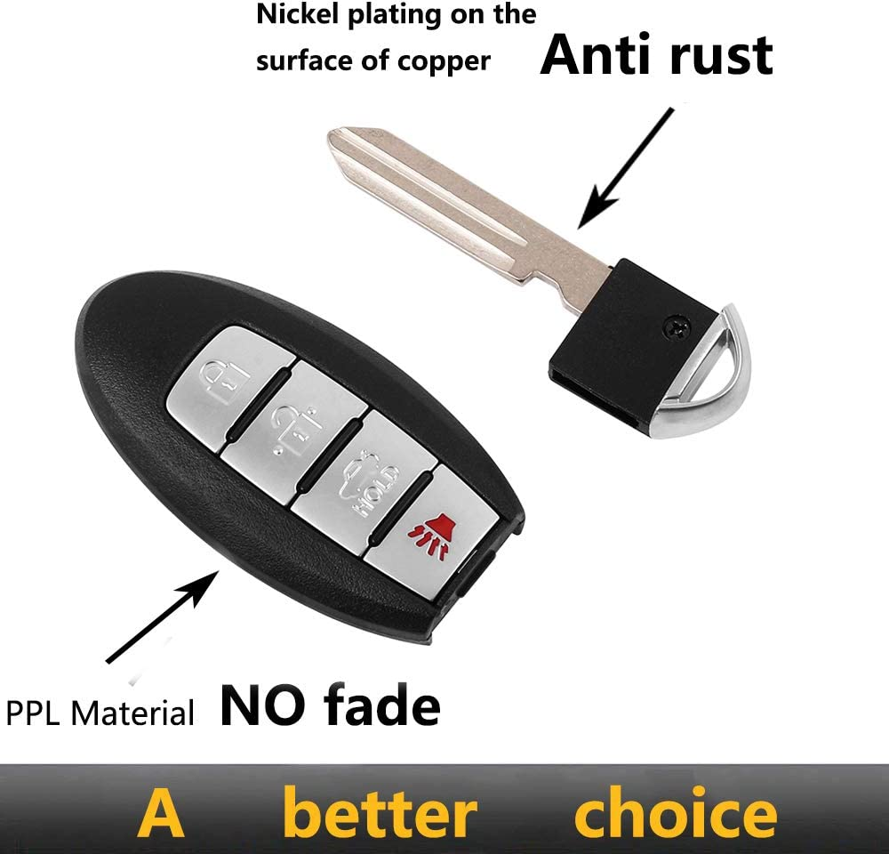 Key Fob Compatible with 2016 2017 Nis san Altima Maxima KR5S180144014, 7812D-S180204