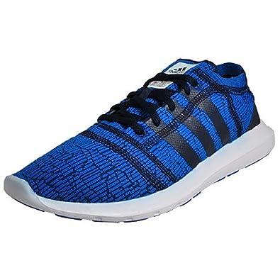 new product 0ef89 e7d45 Adidas Element Refine 2Mp Hommes Chaussures De Running Sport Bleu Bleu  Marine Blanc 42