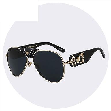 2a6d64475c80 Image Unavailable. Image not available for. Color: Sunglasses Men Women  Brand Designer Glasses Fashion Retro Vintage Sunglasses Pilot Style High  Quali
