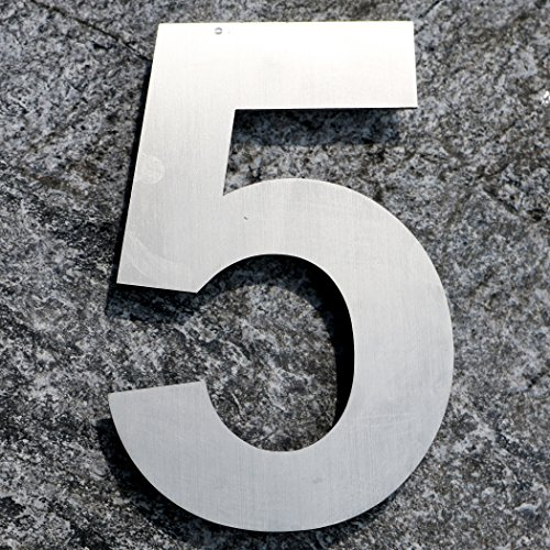 qt-modern-house-number-extra-large-10-inch-brushed-stainless-steel-number-5-five-floating-appearance