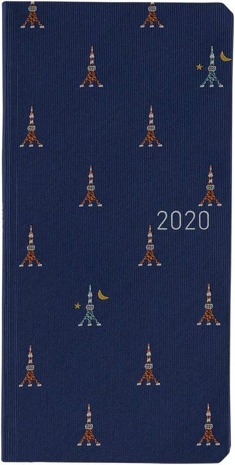 Hobonichi Techo Weeks – Lazo y corbata: Torre Tokio (Japonés ...