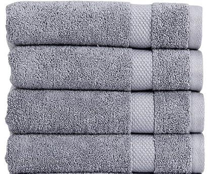 Welspun Christy Bamforth 650 G/m² – Toalla de baño, color azul