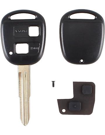2 pulsante voce Mandrino senza chiave guscio Telecomando originale per Citroen C1-C4 Peugeot 206 307 306 207