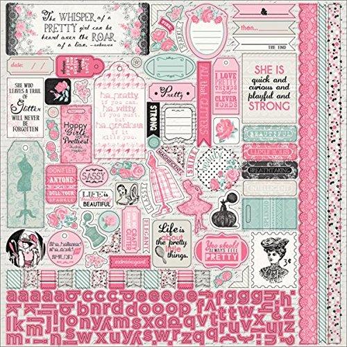 Classique Pretty Cardstock Stickers 12