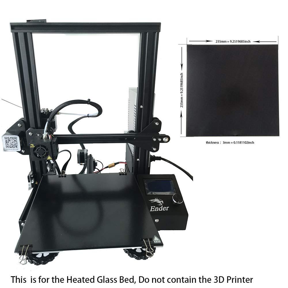 Amazon.com: CCTREE - Plato de cristal templado para ...