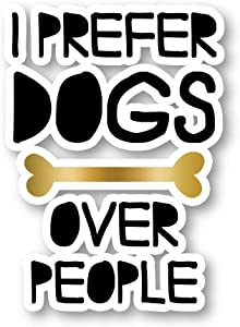 "Dogs Sticker Dog Stickers - Laptop Stickers - 2.5"" Vinyl Decal - Laptop, Phone, Tablet Vinyl Decal Sticker S1130"