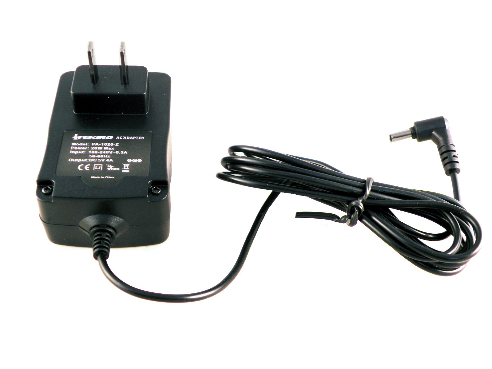 iTEKIRO 6.5 Ft Wall Charger for Nextbook Flexx 8.9'' (Flexx 9 NXW9QC132), 10.1'' (Flexx 10 NXW101QC232), 11.6'' (Flexx 11 NXW116QC264T), Ares 11.6'' (Ares 11 NXA116QC164) 2-in-1 Tablet (Right Angle Tip)