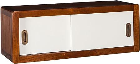 Vilys House Mueble Auxiliar de Pared con 2 Puertas correderas - línea Barcelona: Amazon.es: Hogar