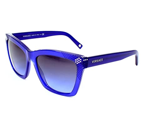 543e262244 Image Unavailable. Image not available for. Color  Versace Sunglasses VE  4213 B 936 79 Acetate ...
