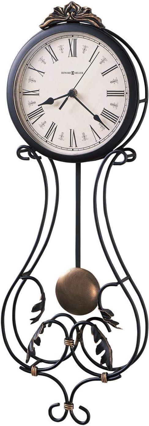 Howard Miller Paulina Wall Clock 625-296 Modern Round