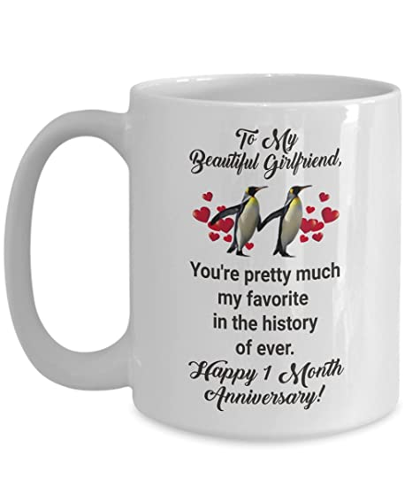 amazon com 1 month dating anniversary gifts for girlfriend from