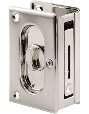 Prime Line N 7367 Pocket Door Privacy Lock With Pull   Replace Old Or  Damaged