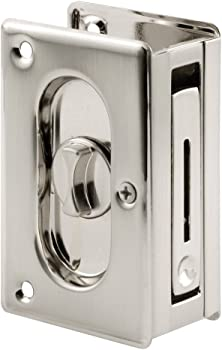 Prime-Line N Pocket Door Privacy Lock with Pull