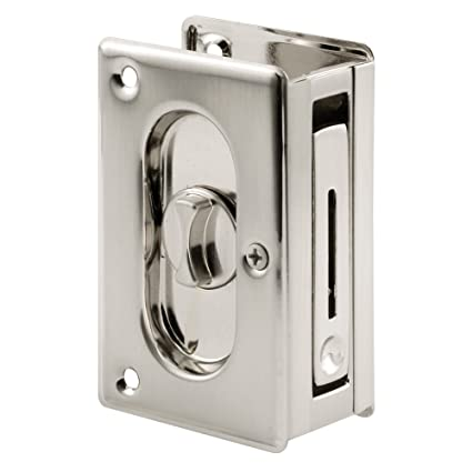Prime-Line N 7367 Pocket Door Privacy Lock with Pull - Replace Old or Damaged  sc 1 st  Amazon.com & Prime-Line N 7367 Pocket Door Privacy Lock with Pull - Replace Old ...