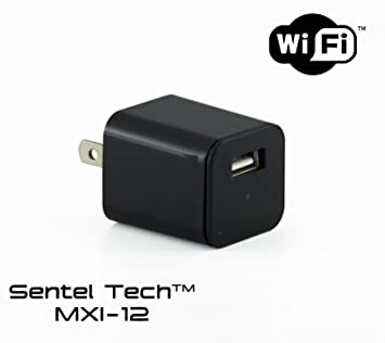Amazon.com: mxi-12 USB AC Adapter Charger oculta cámara ...