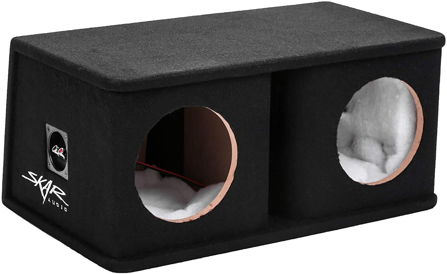 "Skar Audio SK2X8V Dual 8"" Universal Fit Ported Subwoofer Enclosure"