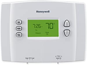 Honeywell RTH2300B1012 5-2 Day Programmable Thermostat, 1-Pack, White