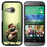 Exotic-Star ( Scottish Bagpipe Player Kilt Man ) Snap On Hard Protective Case For HTC ONE MINI 2 / M8 MINI