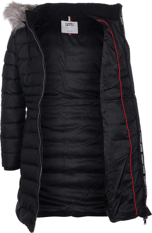 66e8b04cf424d5 Tommy Jeans Essential Hooded Down W Mantel Tommy Black: Amazon.de:  Bekleidung