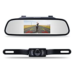 "Chuanganzhuo 4.3"" Car Vehicle Rearview Mirror Monitor"
