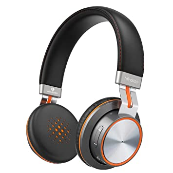 MindKoo - Auriculares Bluetooth inalámbricos, auriculares Bluetooth 4.1 con sonido estéreo de alta fidelidad,