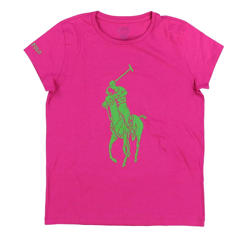 Polo Ralph Lauren Womens Crew Neck Big Pony Graphic Logo T-Shirt