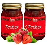 Green Jay Gourmet Strawberry Jam - All-Natural