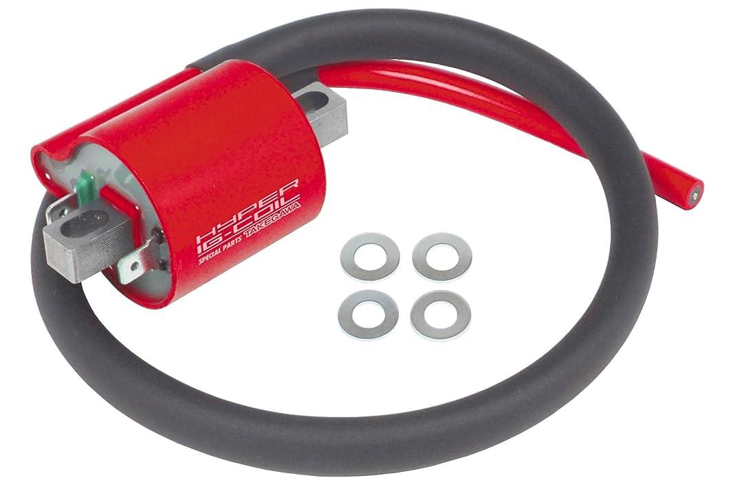 フォーラム保証登るプラグコード 赤8mmスパイラルコア 07-14yXL