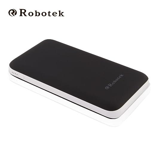 Robotek Power Bank S15 15000 mAh Multi USB conector  Black  Power Banks
