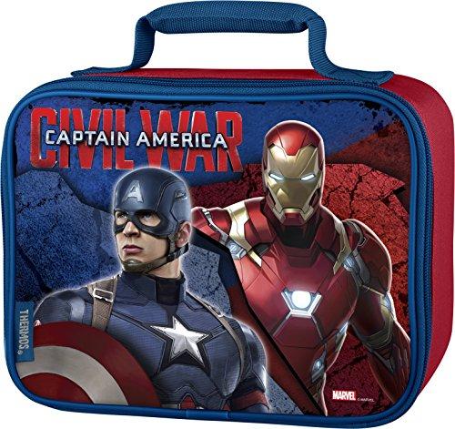 Thermos Soft Lunch Kit, Captain America Civil (America Box)
