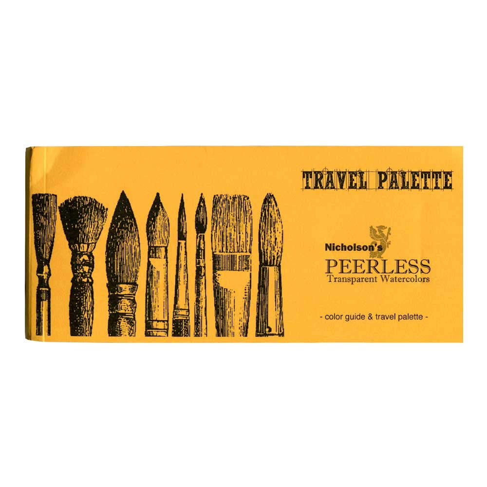 Peerless Complete Travel Palette and Color Guide, Full Booklet, 78 Colors (Full Travel Palette) by Peerless