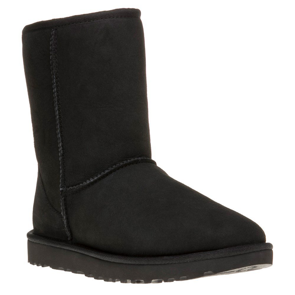 UGG Classic Short Boots II, 7M, Black by UGG