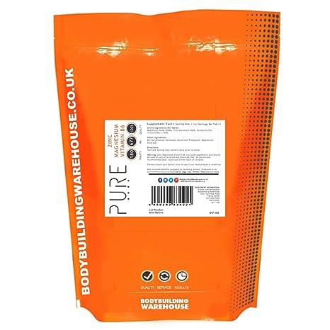 Zinc, Magnesio y Vitamina B6 Pura - 180 Tabletas