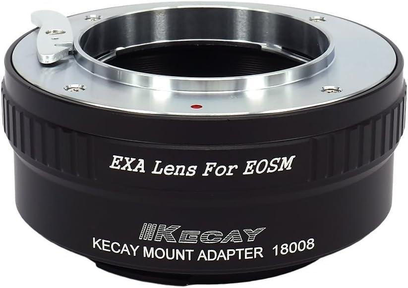 KECAY 39MM-EOSM Lens Mount Adapter Leica M39 LTM L39 39mm Mount Lens to Canon EOS-M EF-M Camera Body fit EOS M1 M2 M3 M10 Mirrorless Cameras