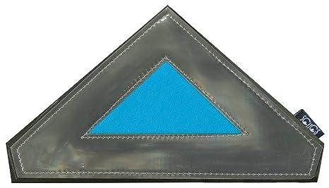 Reflectante portátil triángulo de seguridad apto para añadir a chaquetas y mochilas | USA imanes adherirse a la mayoría de tejidos | útil para mayor ...
