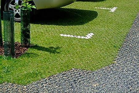 1 St/ück 0,25 m2 rg-vertrieb Rasengitter Rasenplatten Paddockplatten Rasenwaben Reitplatzbau Gehwegplatten 50x50x2,5 cm