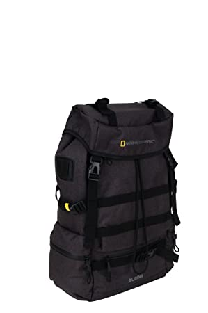 National Geographic Expedition - Mochila casual negro negro: Amazon.es: Equipaje