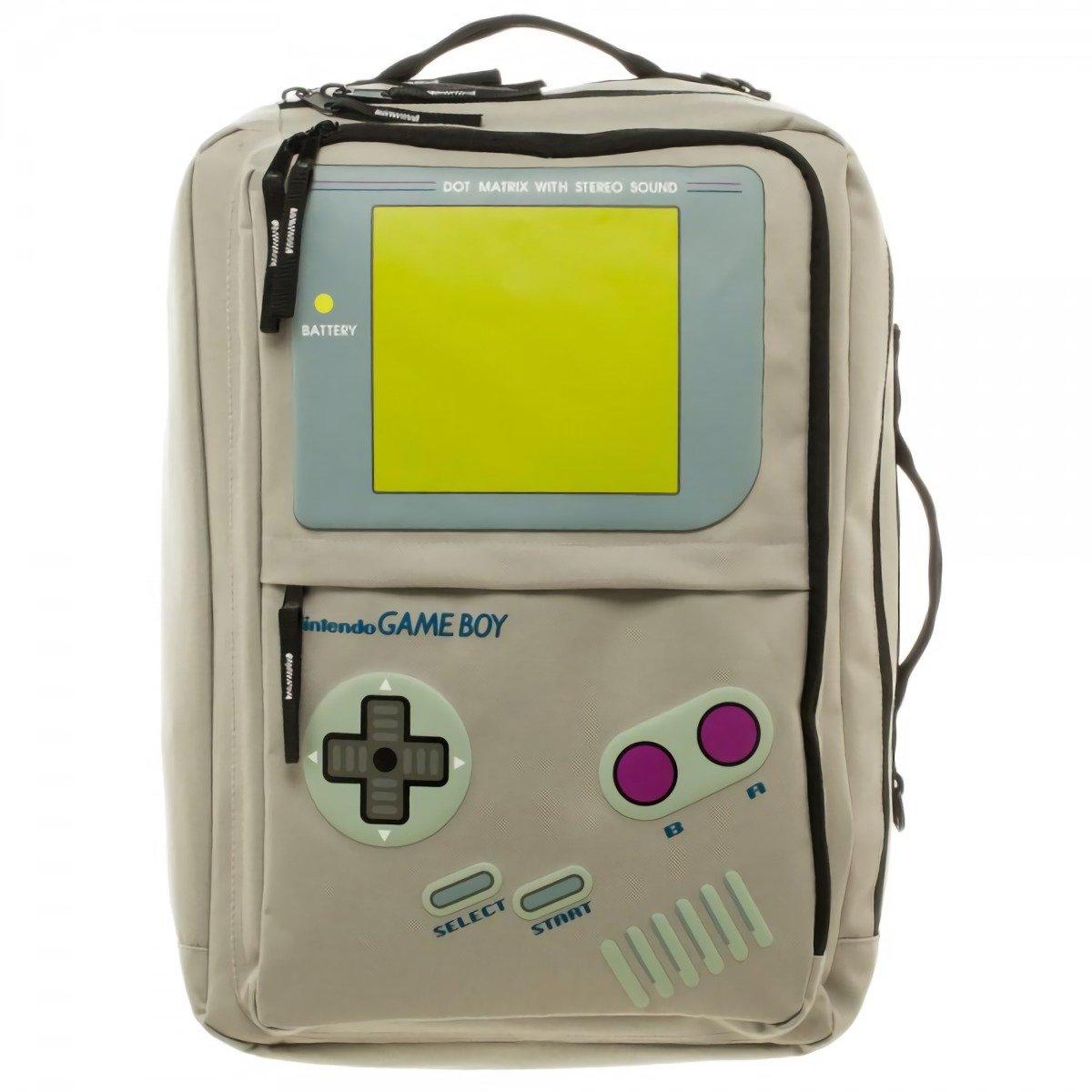 Gameboy Convertible Backpack Messenger Bag Bioworld BP3SDLNTN