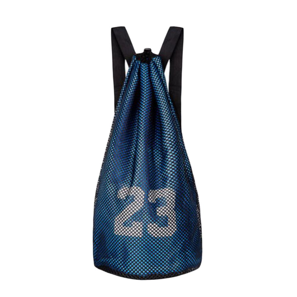 George Jimmy Training Backpack Basketball Volleyball Soccer Pocket Outdoor Sport Organizer Bag-Blue
