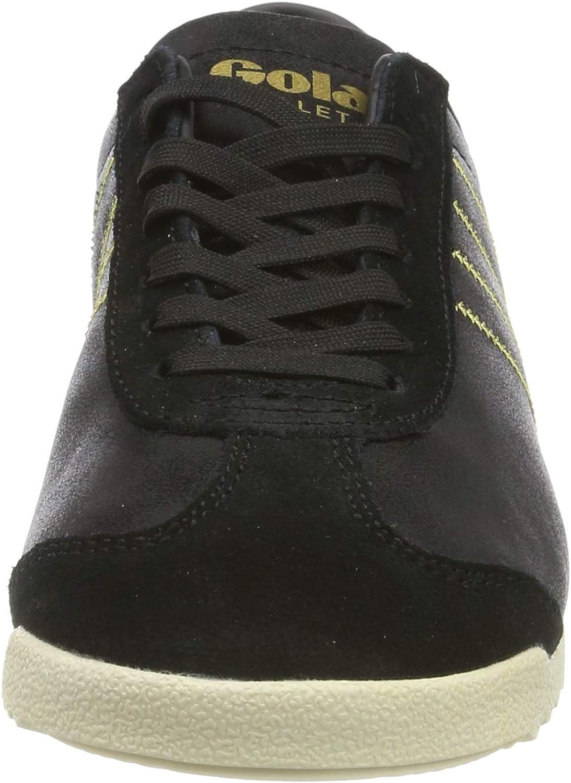 Gola Cla968, Baskets Femme Noir Black Gold By