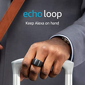 Echo Loop - Smart ring with Alexa - A Day 1 Editions product - Extra Large