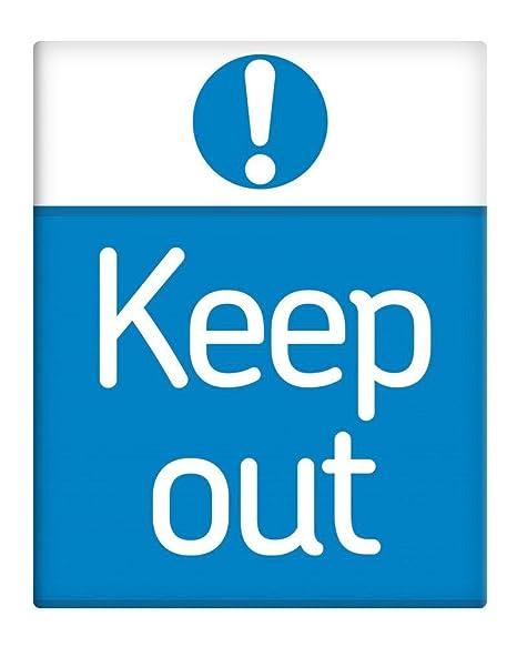 Keep out Cartel de seguridad en el trabajo para oficina o ...