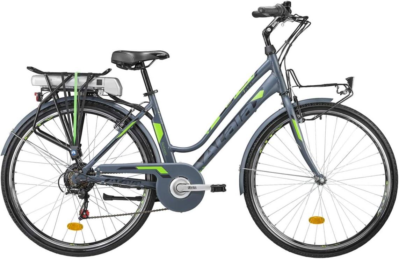 Gato Motor Bicicleta eléctrica Atala y Run 700 C Rueda 28 batería 317 W Bastidor 45: Amazon.es: Deportes y aire libre
