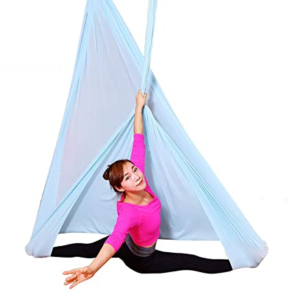 Amazon.com : WSXX Aerial Yoga Hammock, Home Inverted Stretch ...
