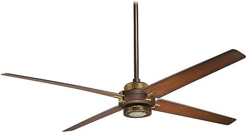 Minka-Aire F726-ORB AB, Spectre Oil-Rubbed Bronze 60 Ceiling Fan w Light Remote Control